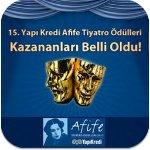 Afife Tiyatro Ödülleri Sahiplerini Buldu