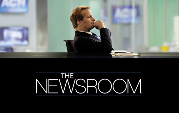 THE NEWSROOM (Haber Merkezi)