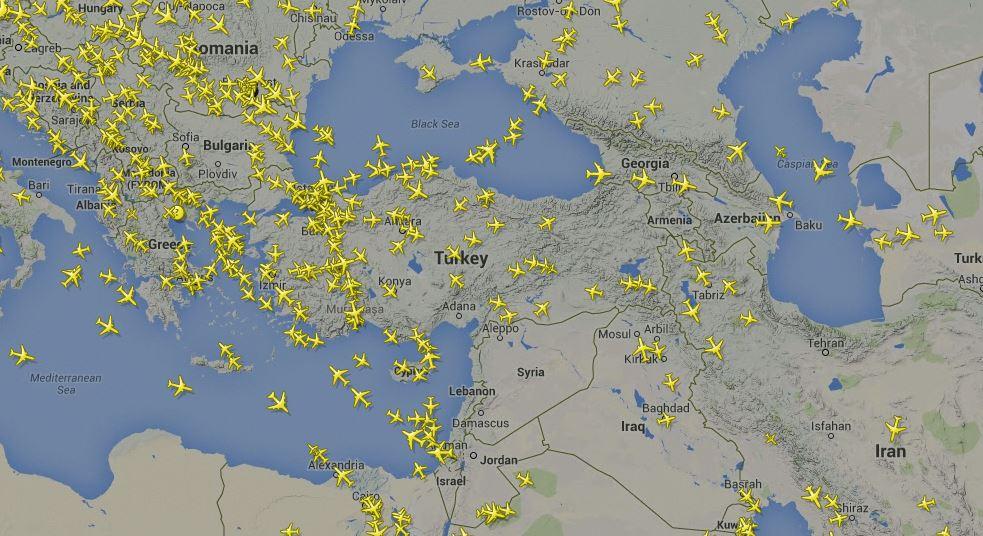Havacılık ve Google Earth