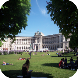 Hofburg Sarayı Önü