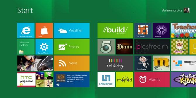 Windows 8 Karşınızda