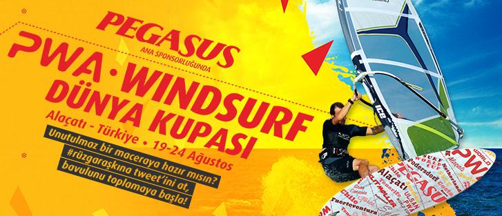 Pegasus'la PWA Dünya Windsurf Kupası Heyecanı 7. Yılında