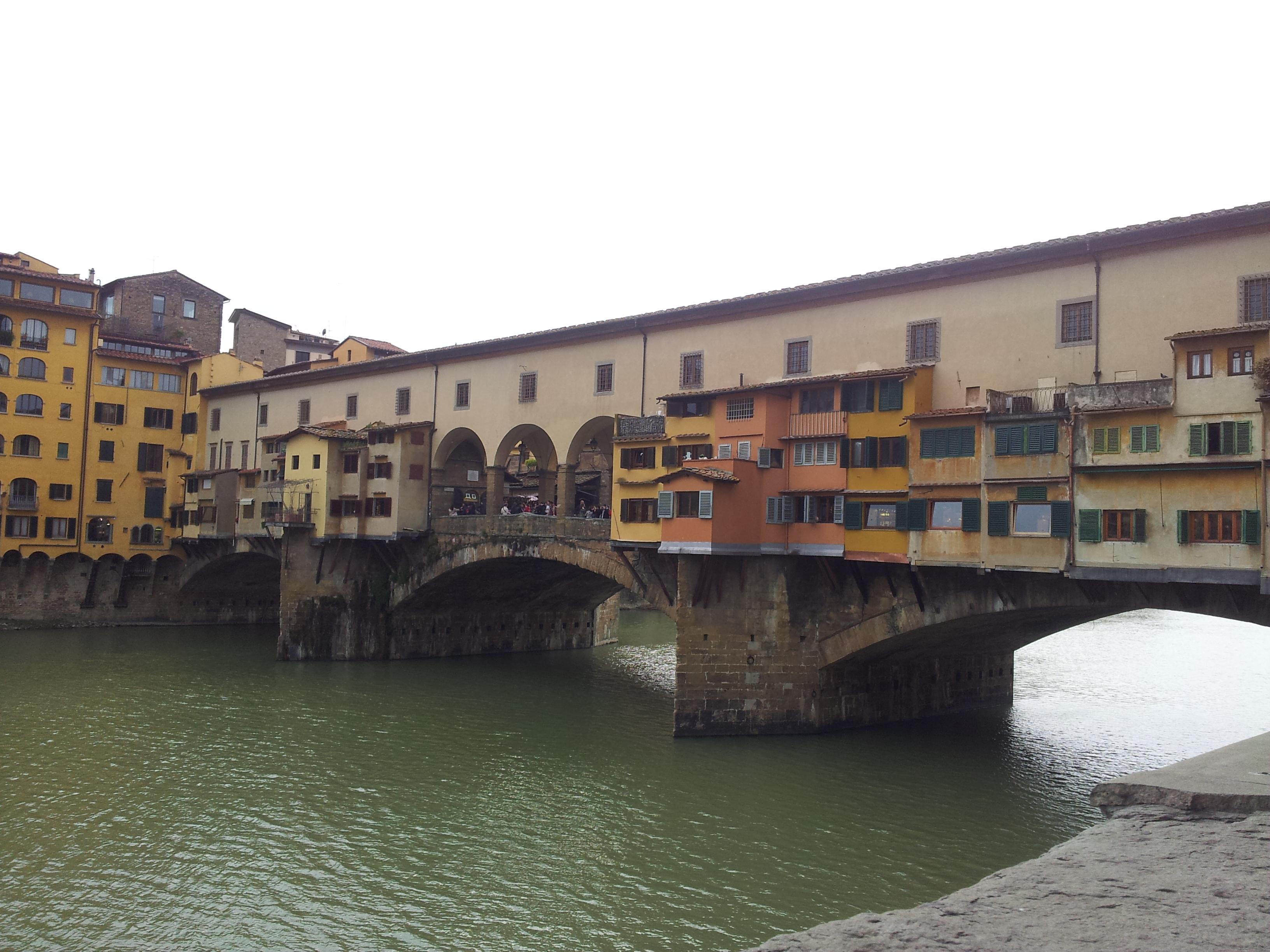 Floransa - Ponte Vecchio Köprüsü