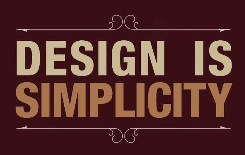 Design is Simplicity