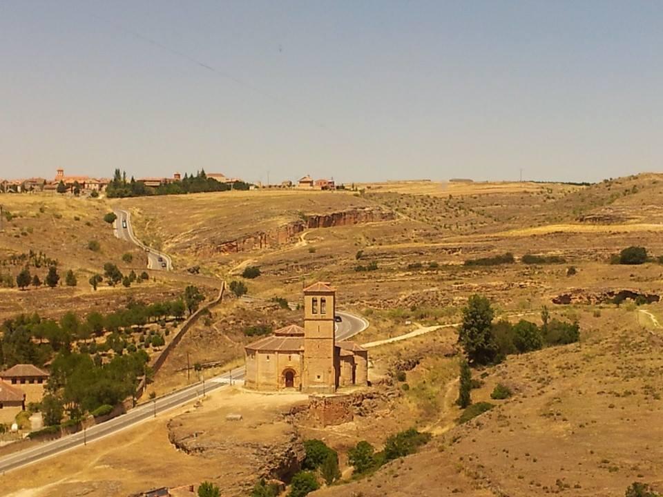 Segovia Alcazar Şatosundan bir görüntü